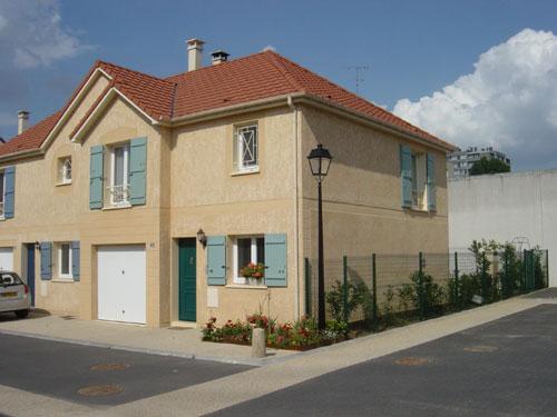 Le monocouche un atout pour l artisan solutions fa ade - Photos de facades de belles maisons ...